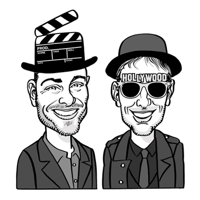 caricatura attori