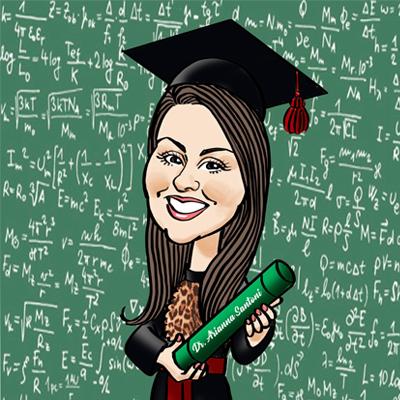 Caricatura laurea matematica