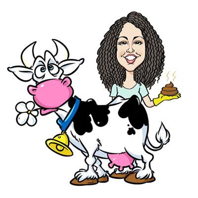 caricatura laurea veterinaria