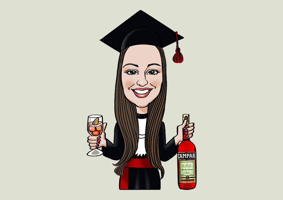 Caricature laurea online